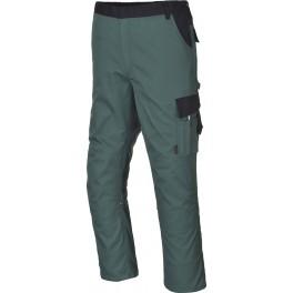 Рабочие брюки Portwest TX36, Зеленый/черный