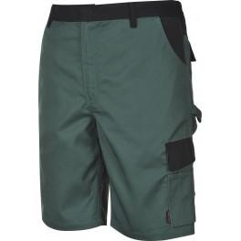 Укороченные брюки Portwest TX37, Зеленый/черный