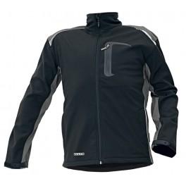 Рабочая куртка Softshell Cerva Аллин (Allyn), Черный / серый