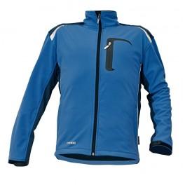 Рабочая куртка Softshell Cerva Аллин (Allyn), Синий / черный