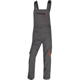 Рабочий полукомбинезон Delta Plus M2Sal, серый/оранжевый