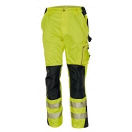 Сигнальные рабочие брюки Cerva Аллин (Allyn), Желтый