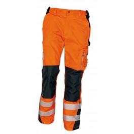 Сигнальные рабочие брюки Cerva Аллин (Allyn), Оранжевый