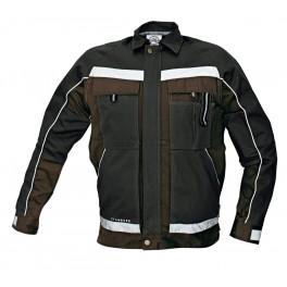 Рабочая куртка Cerva Станморе (Stanmore), Черный / Коричневый