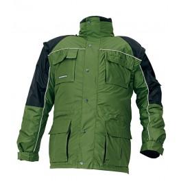 Зимняя рабочая куртка Cerva Станморе (Stanmore), Зеленый, 3 в 1