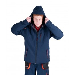 Рабочая куртка Softshell Cerva Эмертон (Emerton), Синий