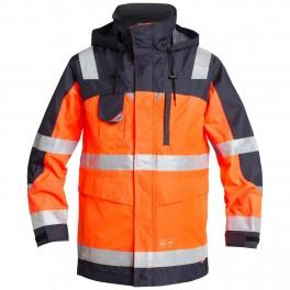 Куртка-парка Engel Safety 1000-928, сигнальный оранжевый/темно-синий