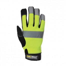 Рабочие перчатки Portwest A710. Салатовый.