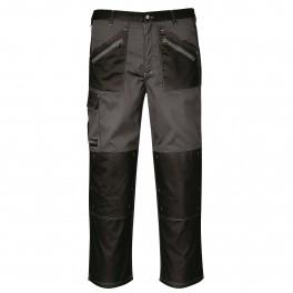 Рабочие брюки Portwest (Англия) KS12, Чёрно-серый