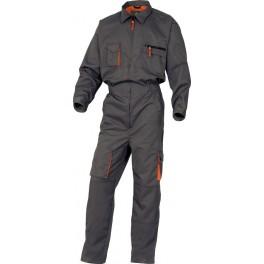 Рабочий комбинезон Delta Plus M2Com, серый/оранжевый