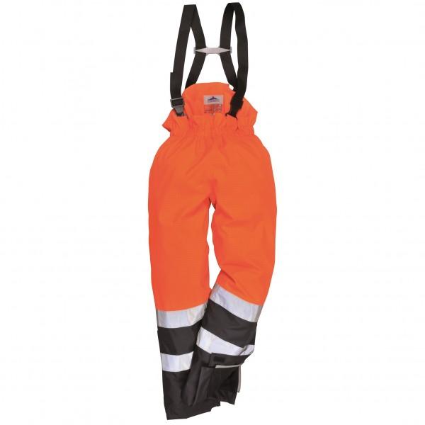 Огнеупорный антистатический зимний п/комбинезон Portwest S782, оранжево-синий
