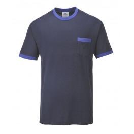 Футболка Portwest (Англия) TX22, Темно-синий / синий