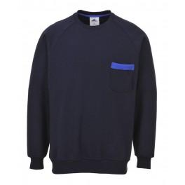 Рабочая толстовка Portwest (Англия) TX23, Темно-синий / синий