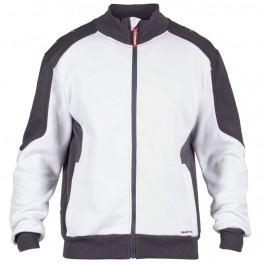 Флисовая куртка Engel Galaxy Sweat Cardigan 8830-233, Белый/черный
