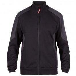 Флисовая куртка Engel Galaxy Sweat Cardigan 8830-233, Черный/серый
