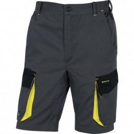 Рабочие шорты Delta Plus DMBer, серый/желтый