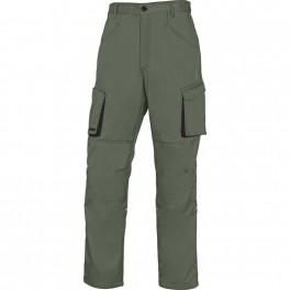 Рабочие брюки Delta Plus M2PA2, зеленый/черный