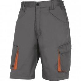 Рабочие шорты Delta Plus M2BE2, серый/оранжевый