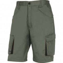 Рабочие шорты Delta Plus M2BE2, зеленый/черный