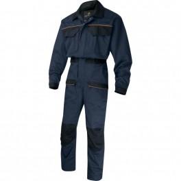 Рабочий комбинезон Delta Plus MCCom, темно-синий/черный
