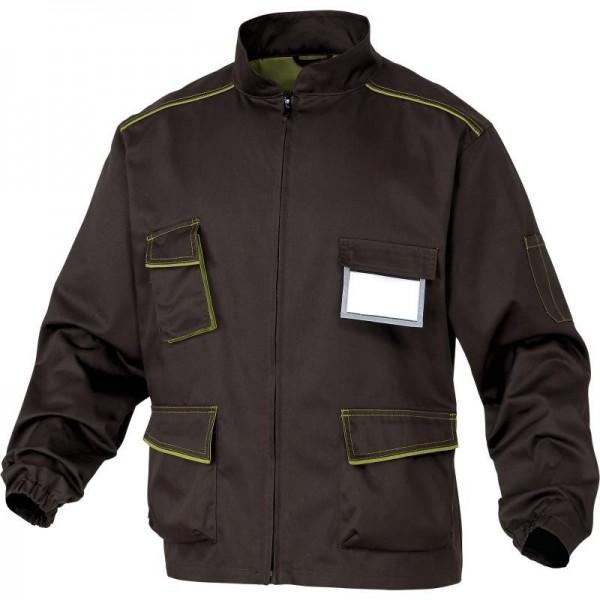 Рабочая куртка Delta Plus M6Ves, коричневый/зеленый