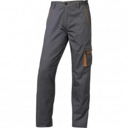Рабочие брюки Delta Plus M6Pan, серый/оранжевый