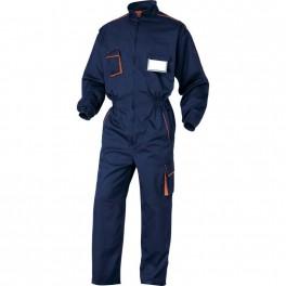 Рабочий комбинезон Delta Plus M6Com, темно-синий/оранжевый