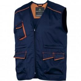 Рабочий жилет Delta Plus M6GIL, Темно-синий/оранжевый