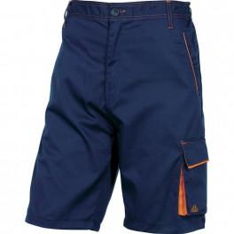 Рабочие шорты Delta Plus M6BER, темно-синий/оранжевый