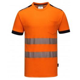 Светоотражающая футболка Portwest T181, оранжевый
