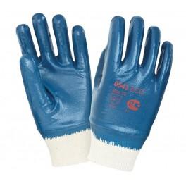 Перчатки нитриловые с тяжелым покрытием 0543 ЕСО