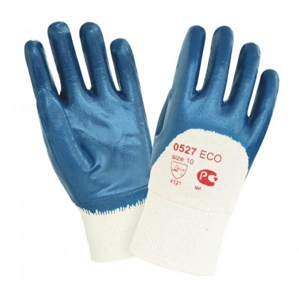 Перчатки нитриловые с тяжелым покрытием 0527 ЕСО
