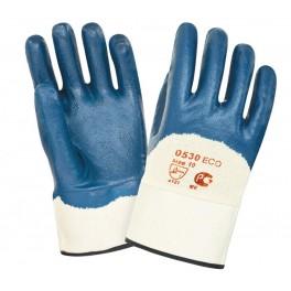 Перчатки нитриловые с тяжелым покрытием 0530 ЕСО