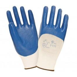 Перчатки нитриловые с легким покрытием 2Hands SafeFlex Full