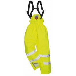 Зимние брюки на подтяжках Portwest S781, желтый