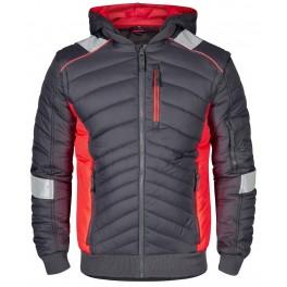 Куртка Engel Cargo 1870-224 серо/оранжевый