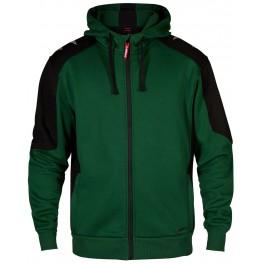 Флисовая куртка Engel Galaxy Sweat Cardigan 8820-233, Зеленый/черный
