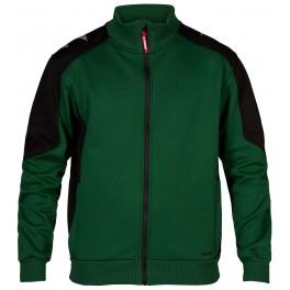 Флисовая куртка Engel Galaxy Sweat Cardigan 8830-233, Зеленый/черный