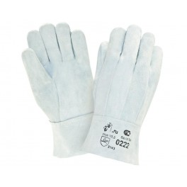 Перчатки  Спилковые перчатки 0222