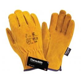 перчатки спилковые перчатки Siberia DRIVER 0128 Thinsulate 3M