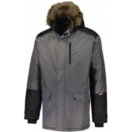Зимняя куртка-парка Dimex Extreme PLUS 2282, серый/черный