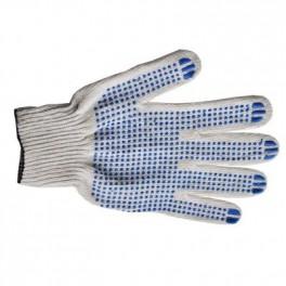 Перчатки 10 класс (4- нити) (универсал) с ПВХ
