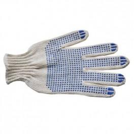 Перчатки 7 класс (5- нитей) с ПВХ