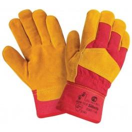 Спилковые утепленные перчатки Siberia RL2