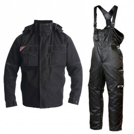 Зимний костюм Engel Combat 1232-107 черный + Dimex 619