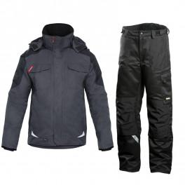 Зимний костюм Engel Galaxy 1410-354 серый/черный + Dimex 682