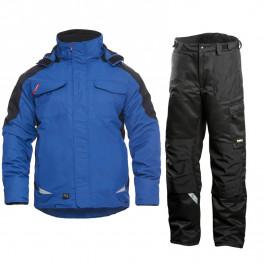 Зимний костюм Engel Galaxy 1410-354 синий/черный + Dimex 682