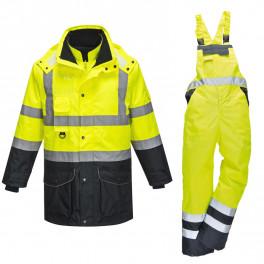 Зимний костюм Portwest S426 + S489 сигнальный желтый