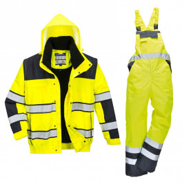 Зимний костюм Portwest C466+ S489 желтый