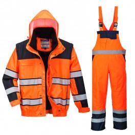 Зимний костюм Portwest C466+ S489 сигнальный оранжевый